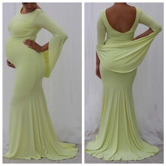 3x Plus Size Maternity Gown NWT
